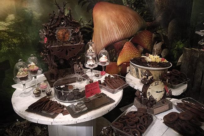 decorazioni con la cioccolata