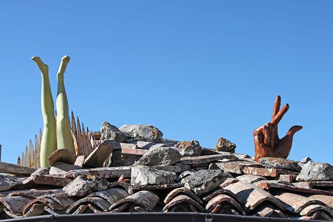 tetti di Torre Alfina