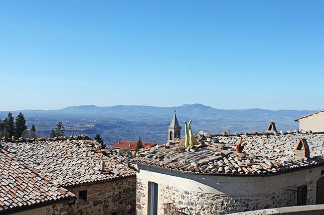 vista da Torre Alfina