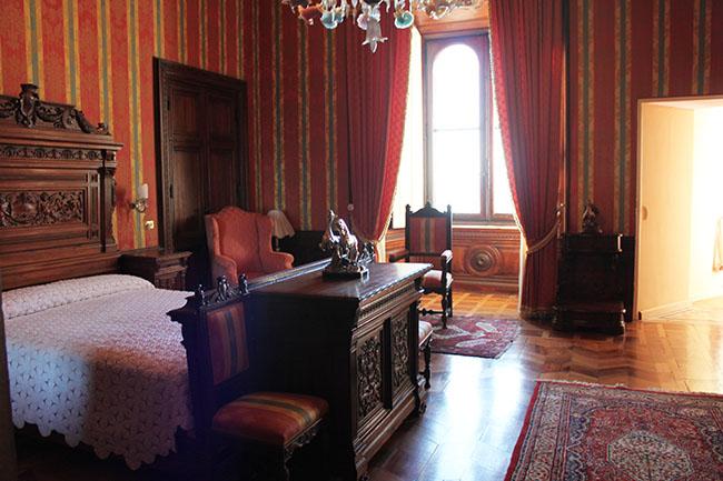 interni del castello di Torre Alfina