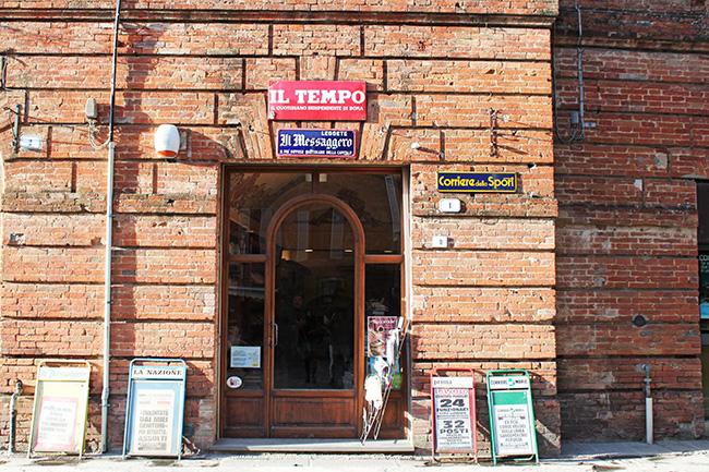 libreria a Città della Pieve