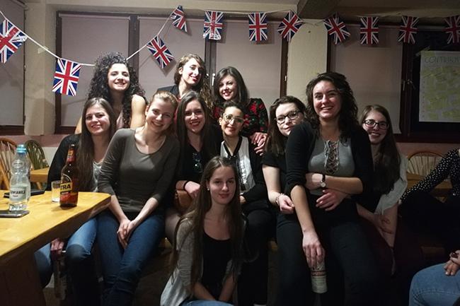party durante Erasmus Plus