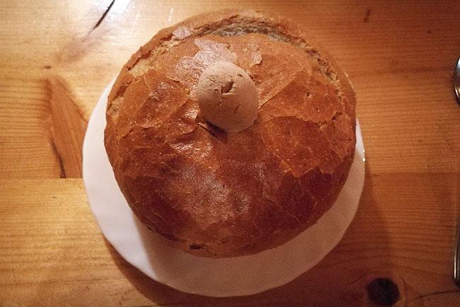 zuppa col pane