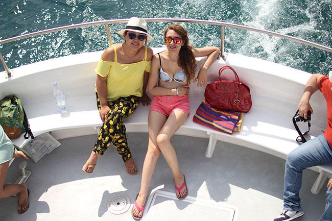 gita in barca al lago di Bolsena