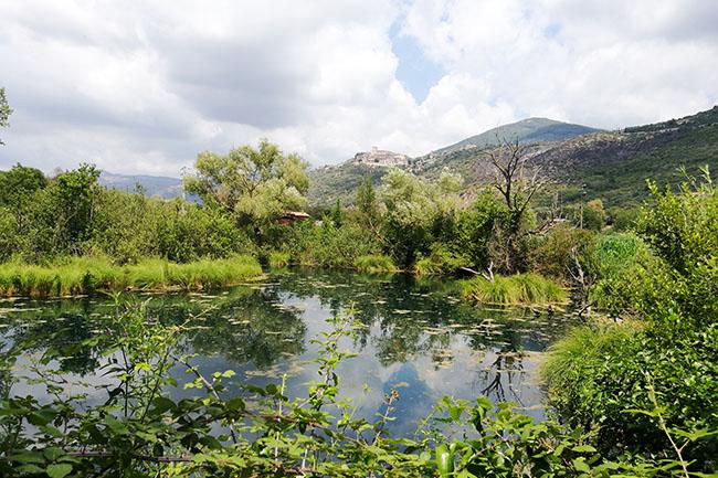 sorgente dell'Acqua Turchina