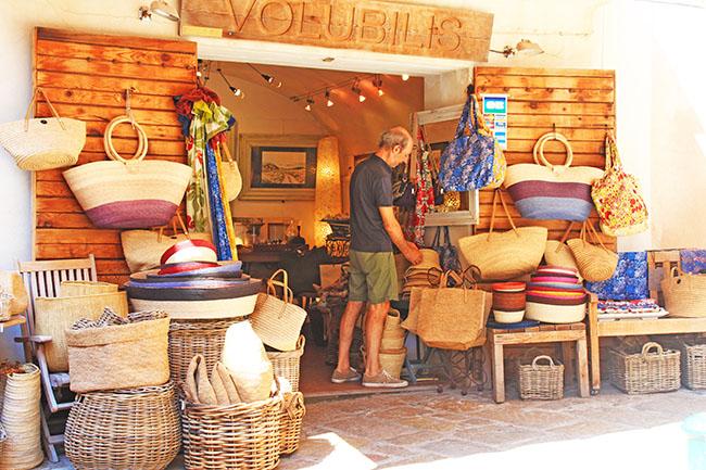 negozio artigianato a Bonifacio