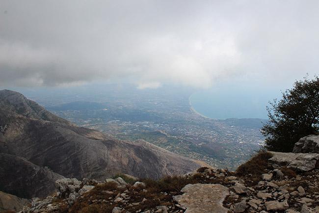 vista sul Golfo di Gaeta