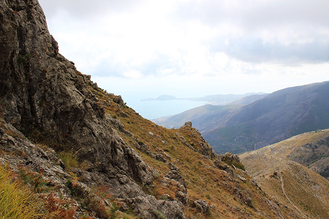 vista dai Monti Aurunci