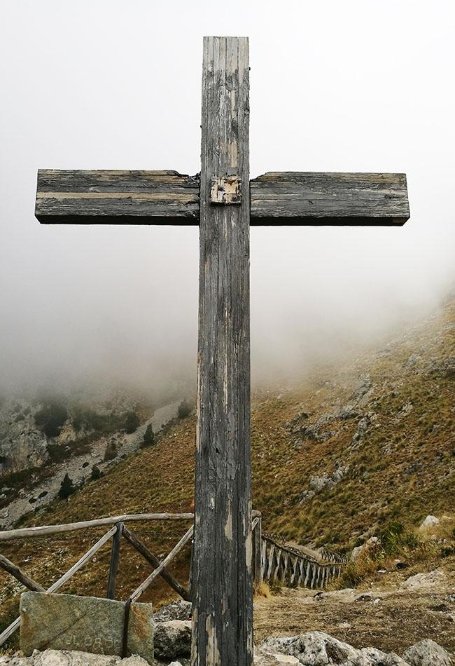 croce sul sentiero di San Michele