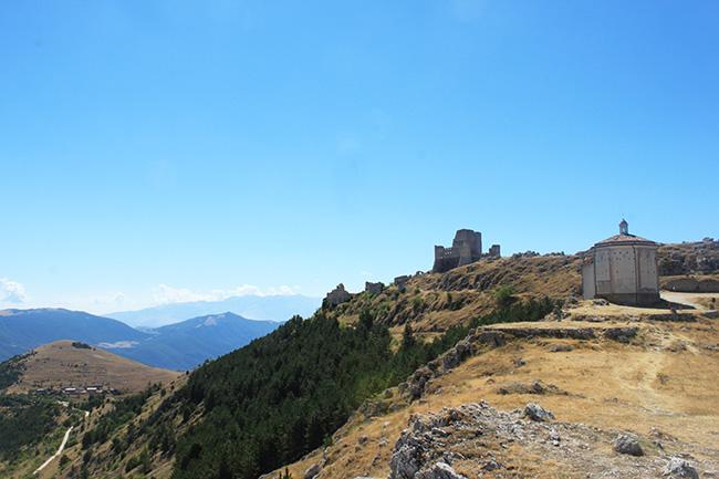 vista di Rocca Calascio