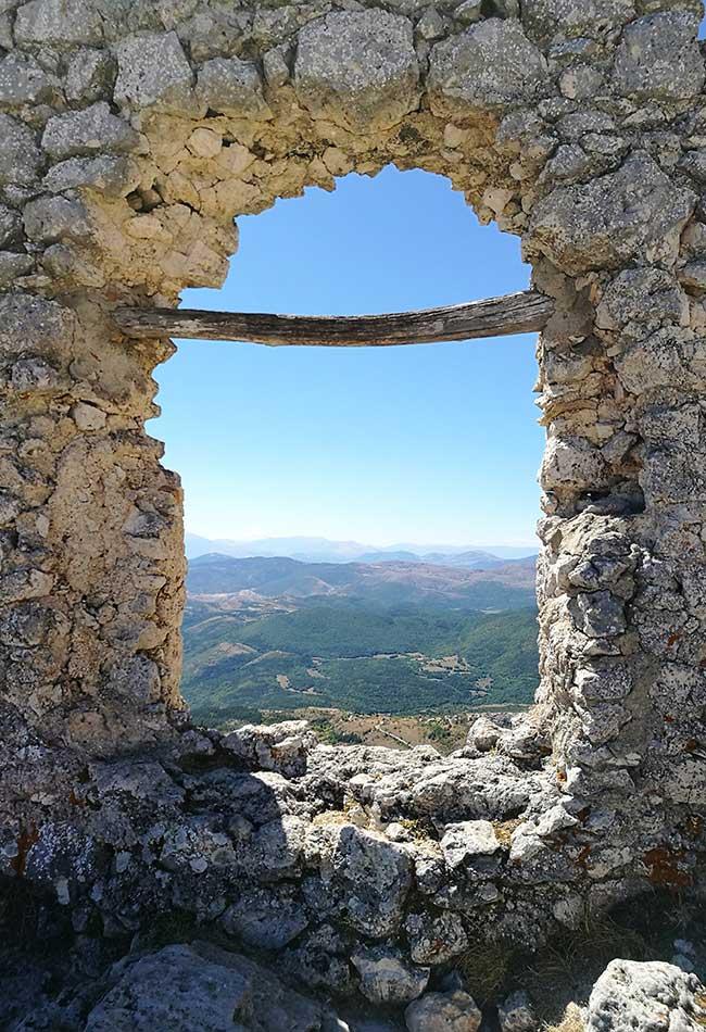 vista da Rocca Calascio