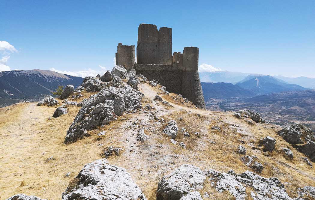 veduta su Rocca Calascio