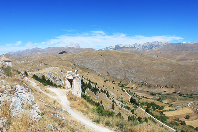 veduta da Rocca Calascio