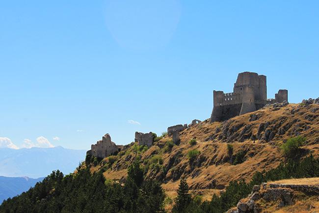 vista su Rocca calascio