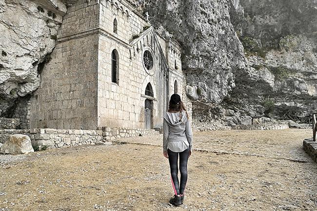 io all'eremo di San Michele Arcangelo