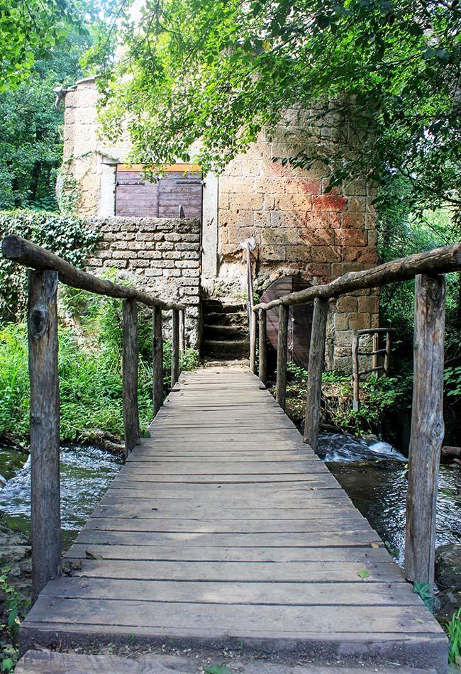 ponticello a Monte Gelato