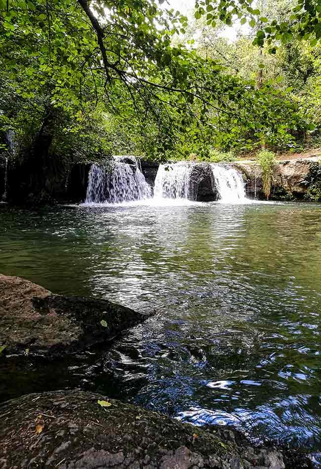 cascate di Mazzano Romano