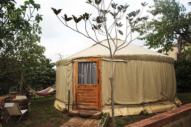 yurta relax Pietra Serena