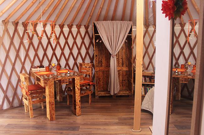 yurta in Maremma