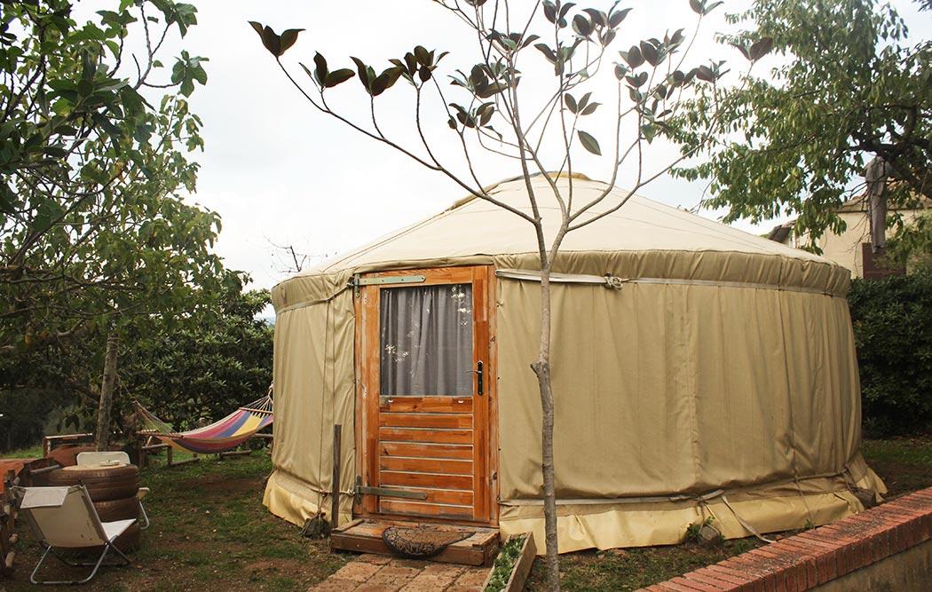 Soggiorna in una yurta relax!