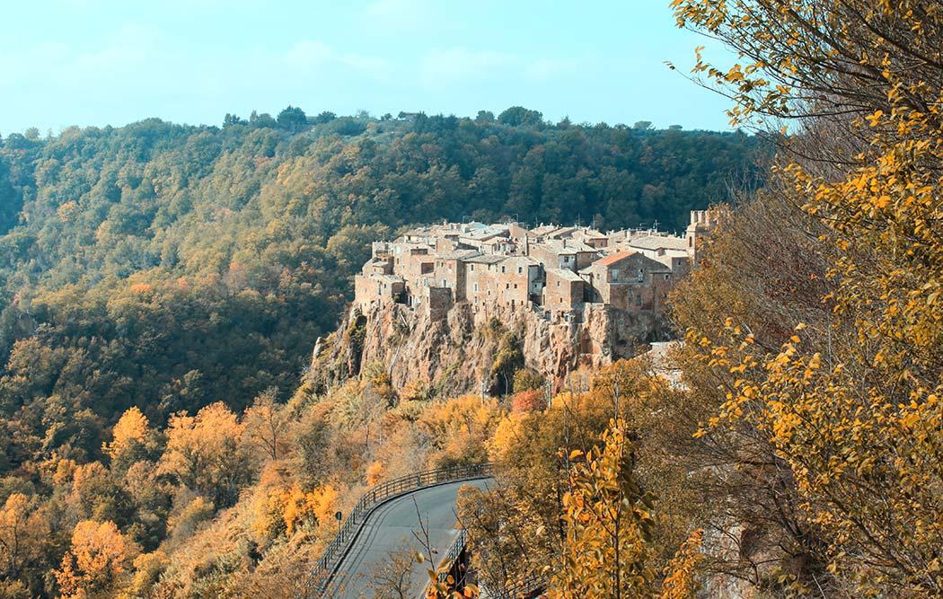 Calcata borgo