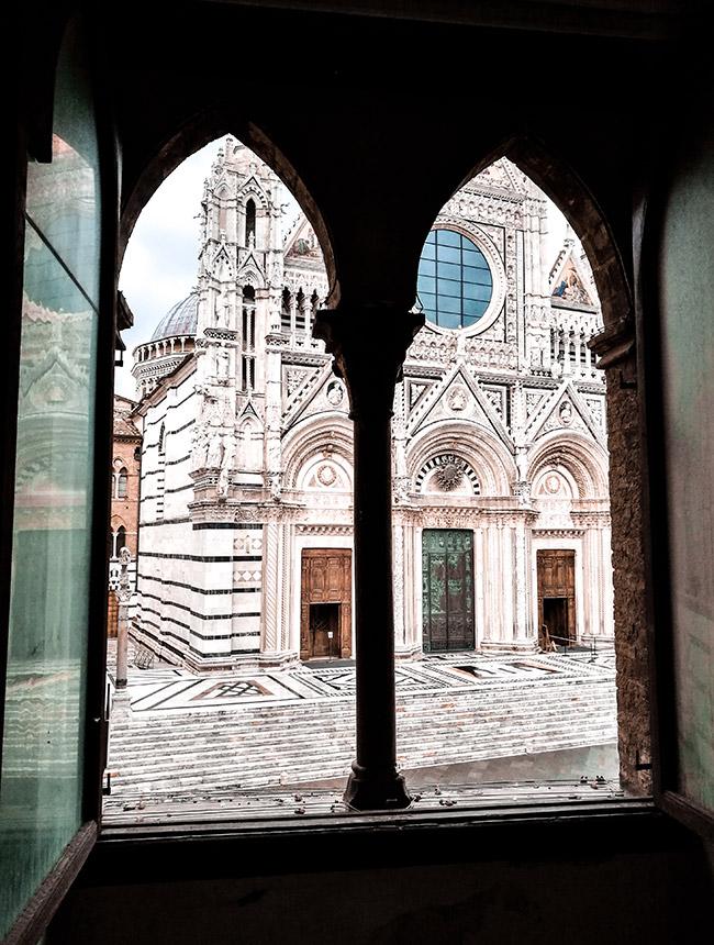empty Santa Maria della Scala