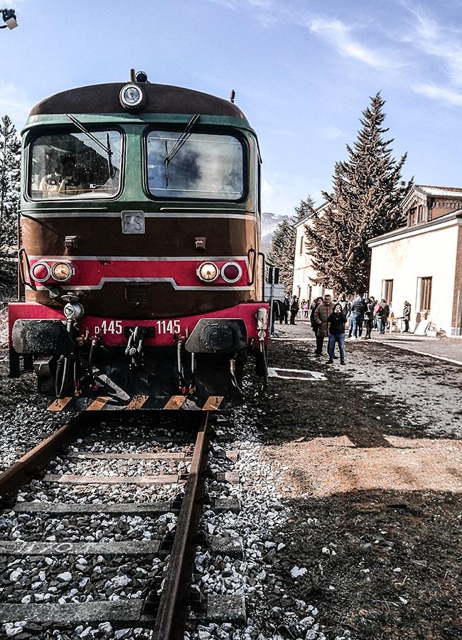 treno storico della Transiberiana d'Italia