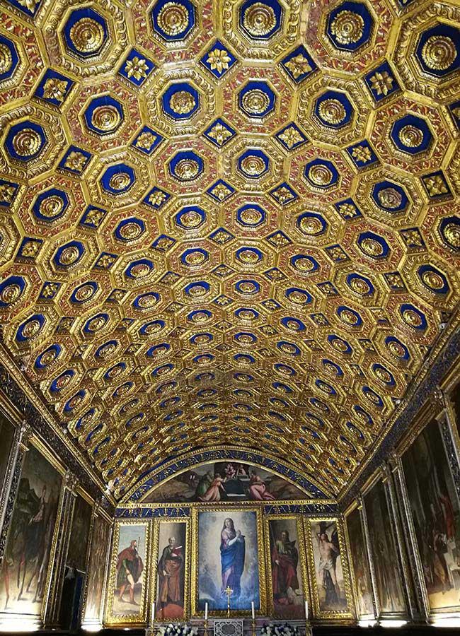 cappella d'oro del Duomo di Gaeta