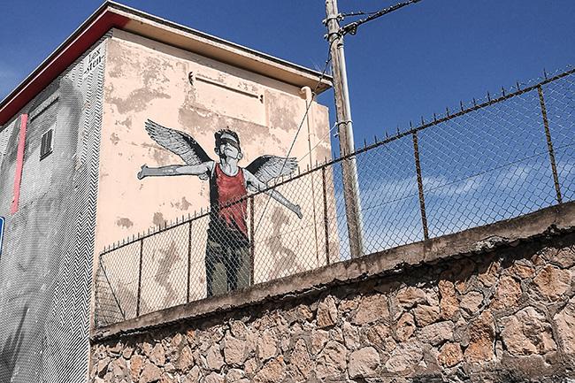 street art di Gaeta