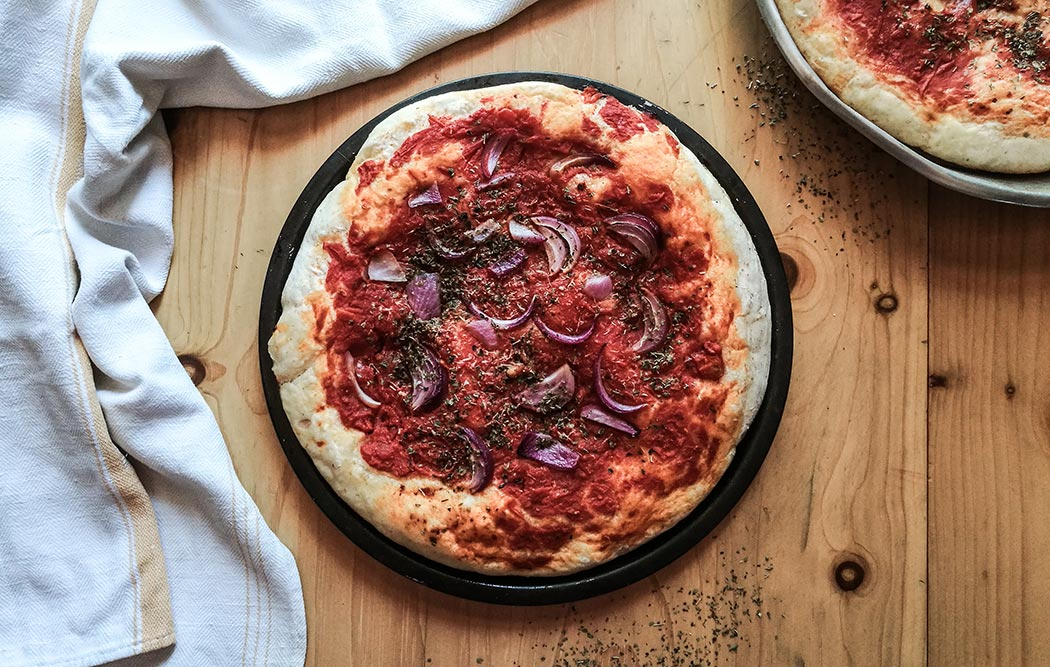 Pizza alla corchianese: come preparare una pizza tipica della Tuscia