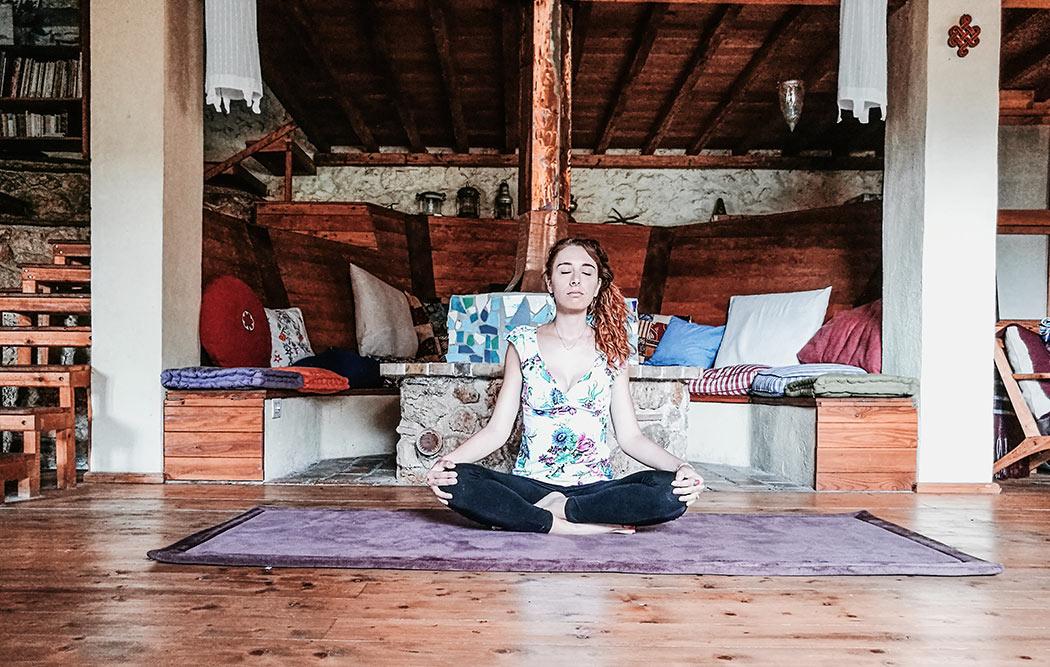 La casa della meditazione nel bosco e la mia local hero Divya