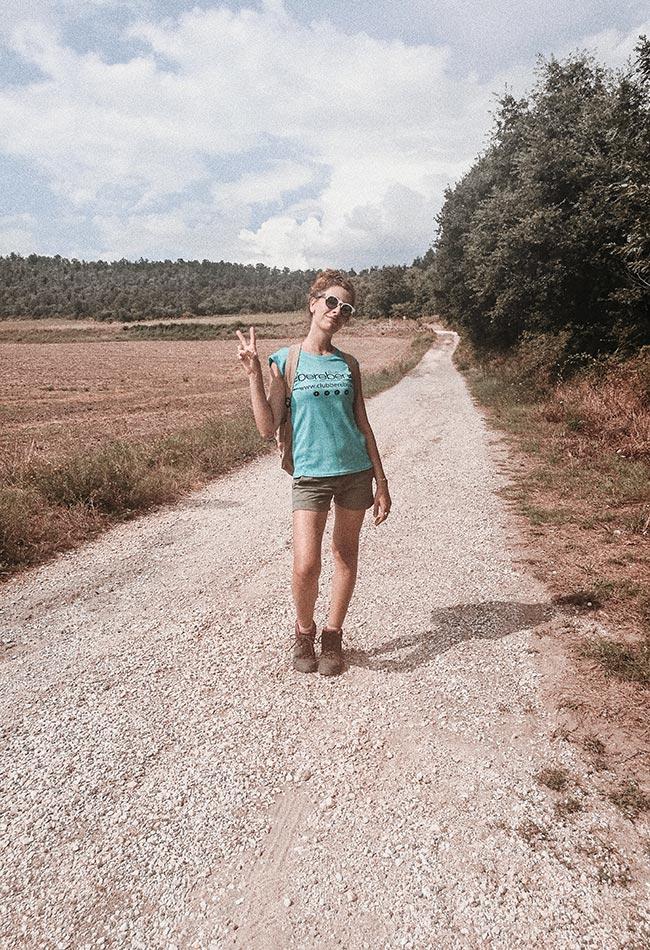 cammino sulla Via Francigena